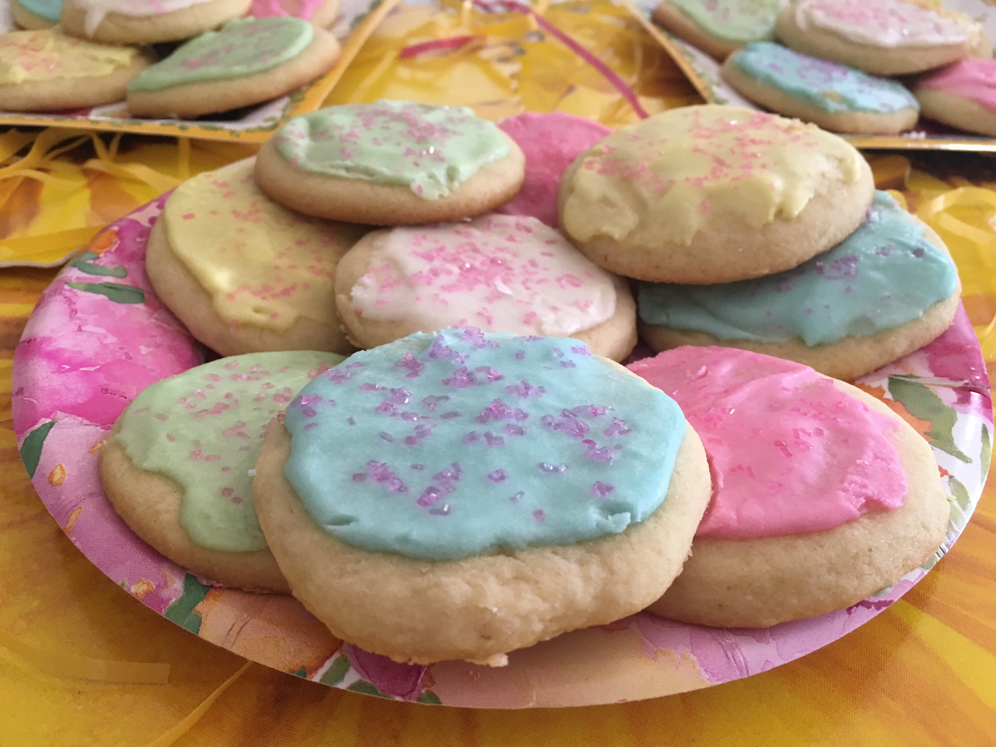 Sugar Cookies With Icing  cookie icing without corn syrup