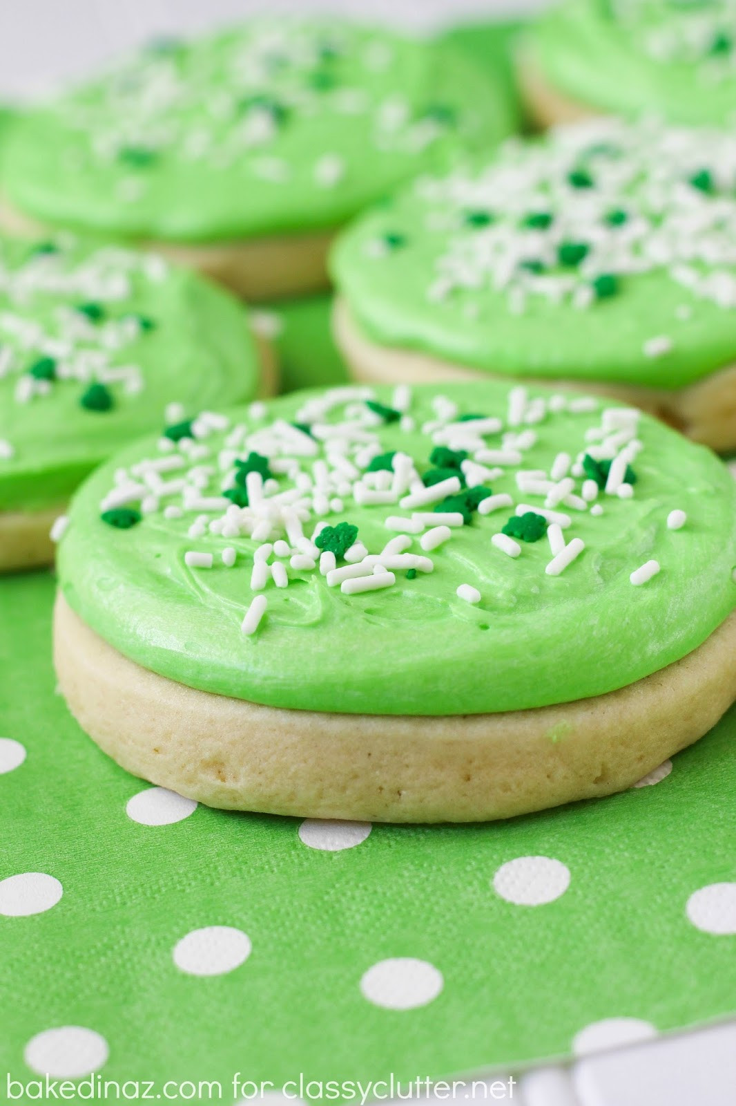 Sugar Cookies With Icing  Heavenly Sugar Cookies Lofthouse Style Classy Clutter