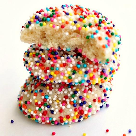 Sugar Cookies With Sprinkles  Sprinkle Sugar Cookies