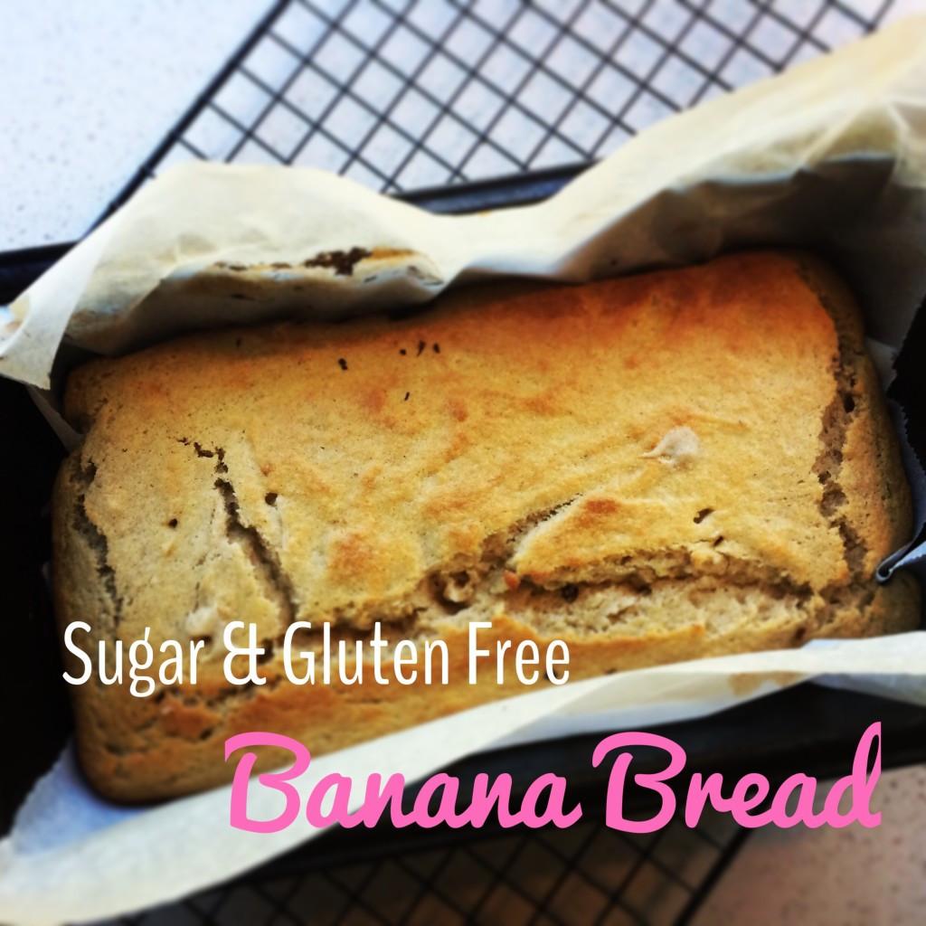 Sugar Free Banana Bread  Simple Gluten and Sugar Free Banana Bread LoulouZoo