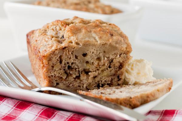 Sugar Free Banana Bread  Sugar free banana bread with whole wheat flour recipe