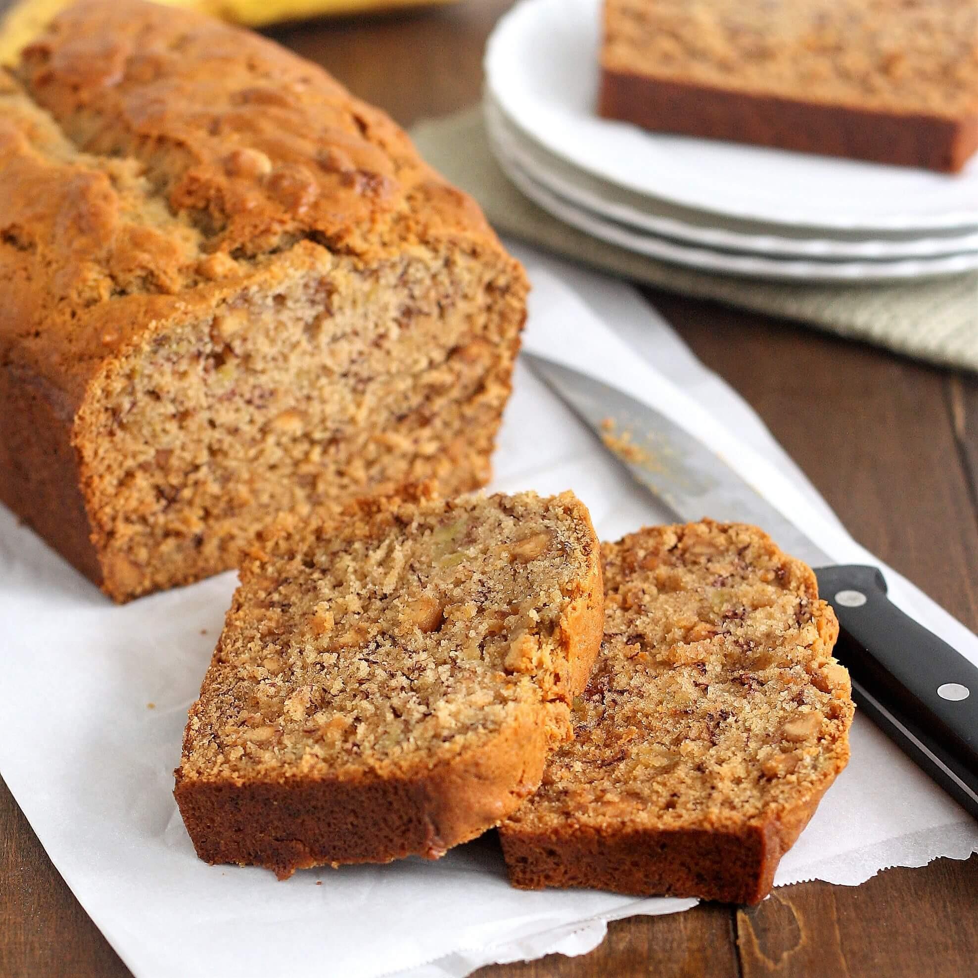 Sugar Free Banana Bread  Foodista Recipes Cooking Tips and Food News