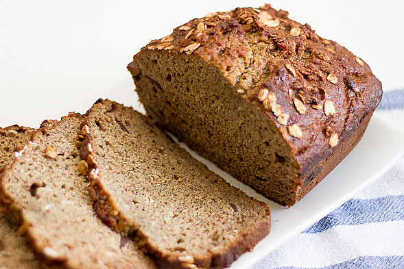 Sugar Free Banana Bread  Sugar Free Banana Bread with Whole Wheat Flour Wishful Chef