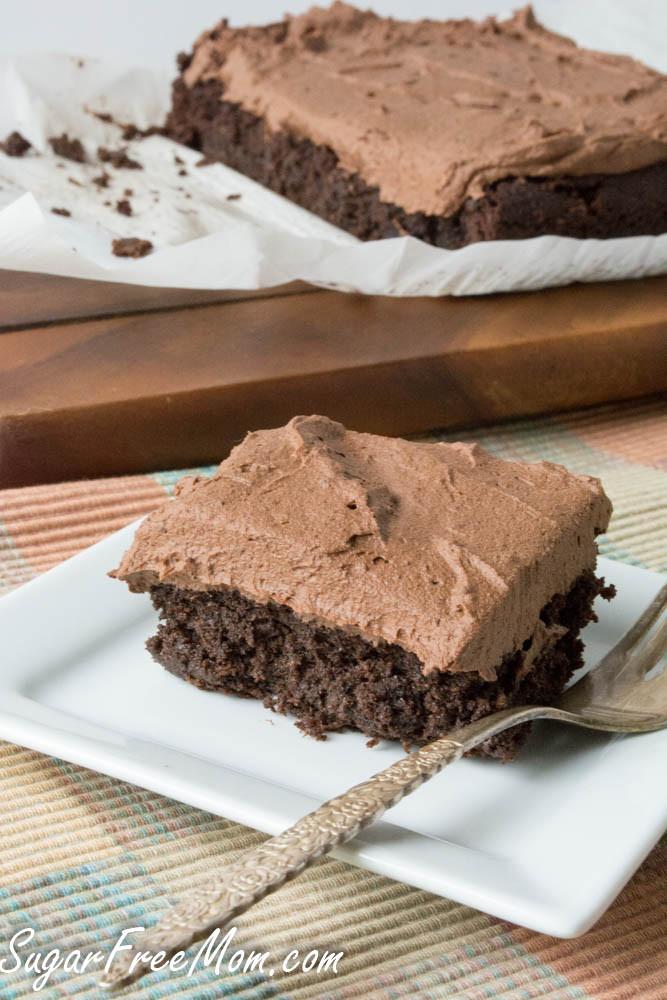 Sugar Free Chocolate Cake  gluten free sugar free chocolate cake