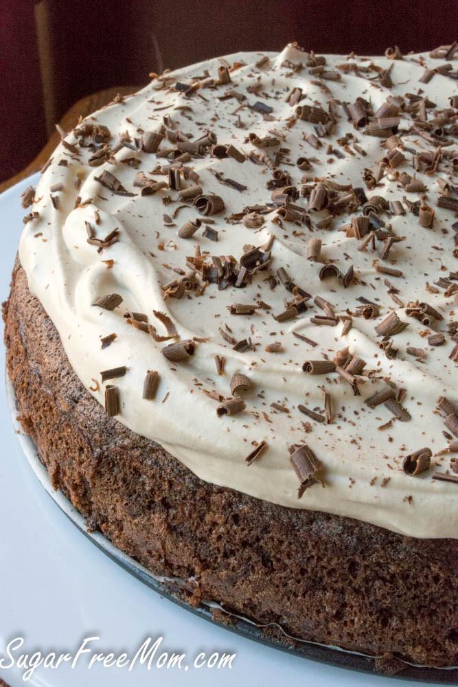 Sugar Free Chocolate Cake  Sugar Free Flourless Chocolate Espresso Fudge Cake