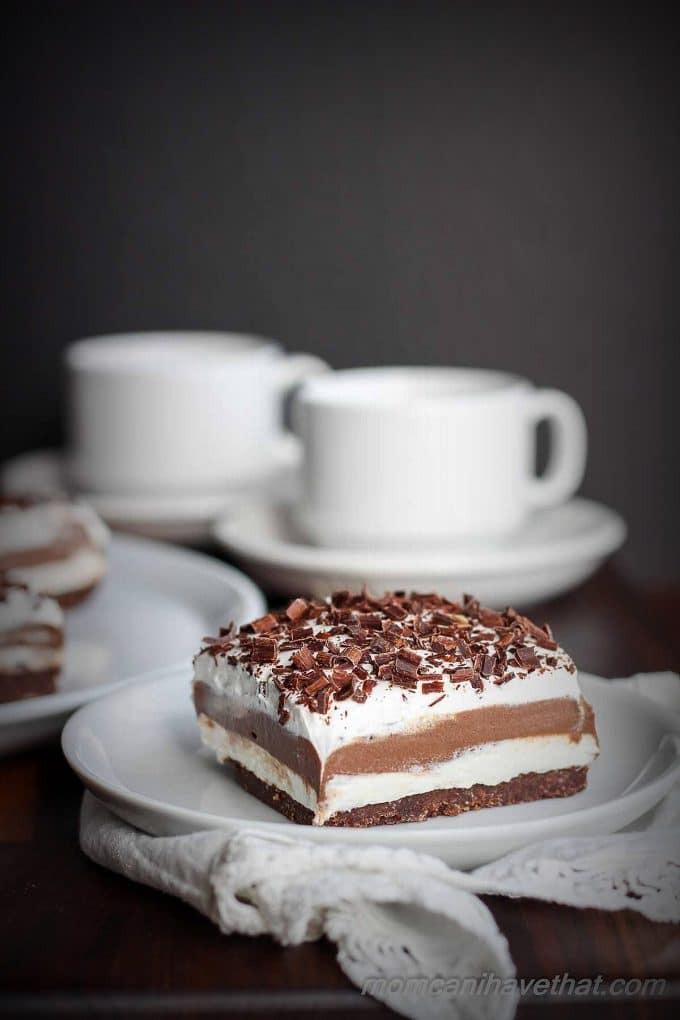 Sugar Free Chocolate Desserts  Low Carb Chocolate Lasagna Sugar free Dessert no bake