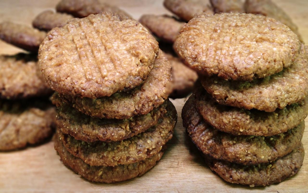 Sugar Free Cookies  Peanut Butter Cookies Low Carb Gluten Free Sugar Free