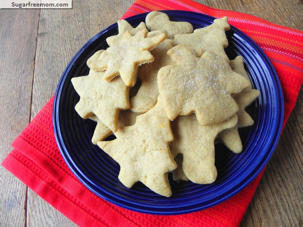 Sugar Free Cookies  Sugarless Low Calorie Sugar Cookies