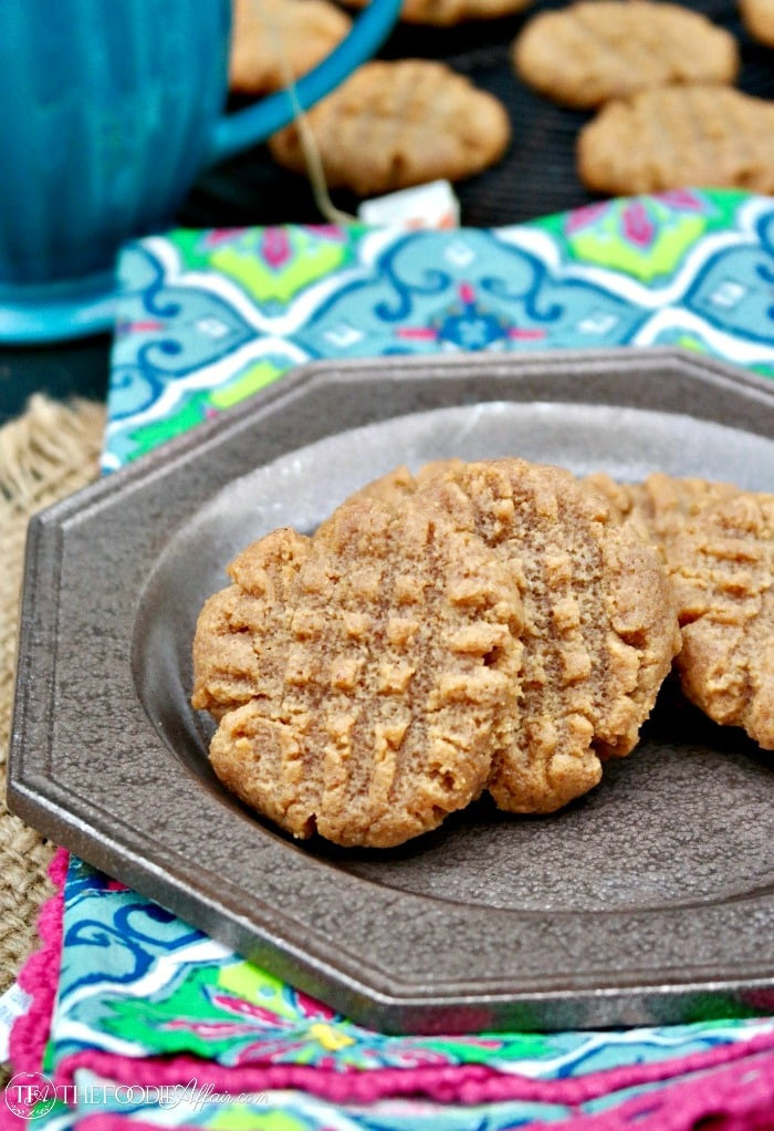 Sugar Free Cookies  Simple e Bowl Sugar Free Peanut Butter Cookies Gluten Free