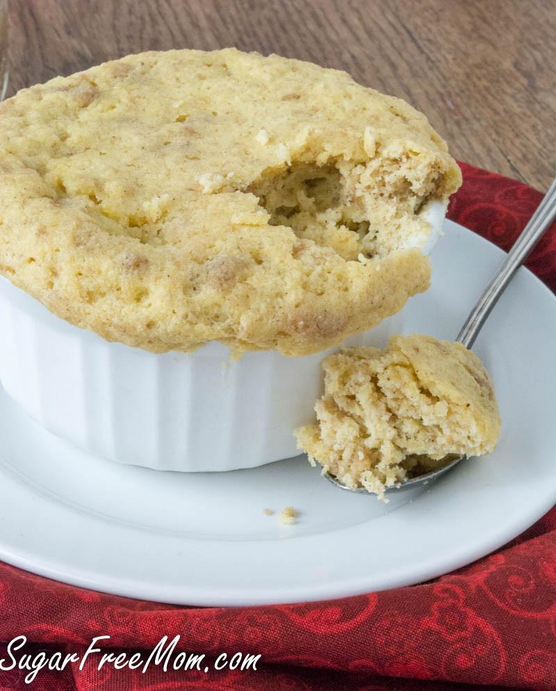 Sugar Free Cookies  Sugar Free Cookie Butter Mug Cake
