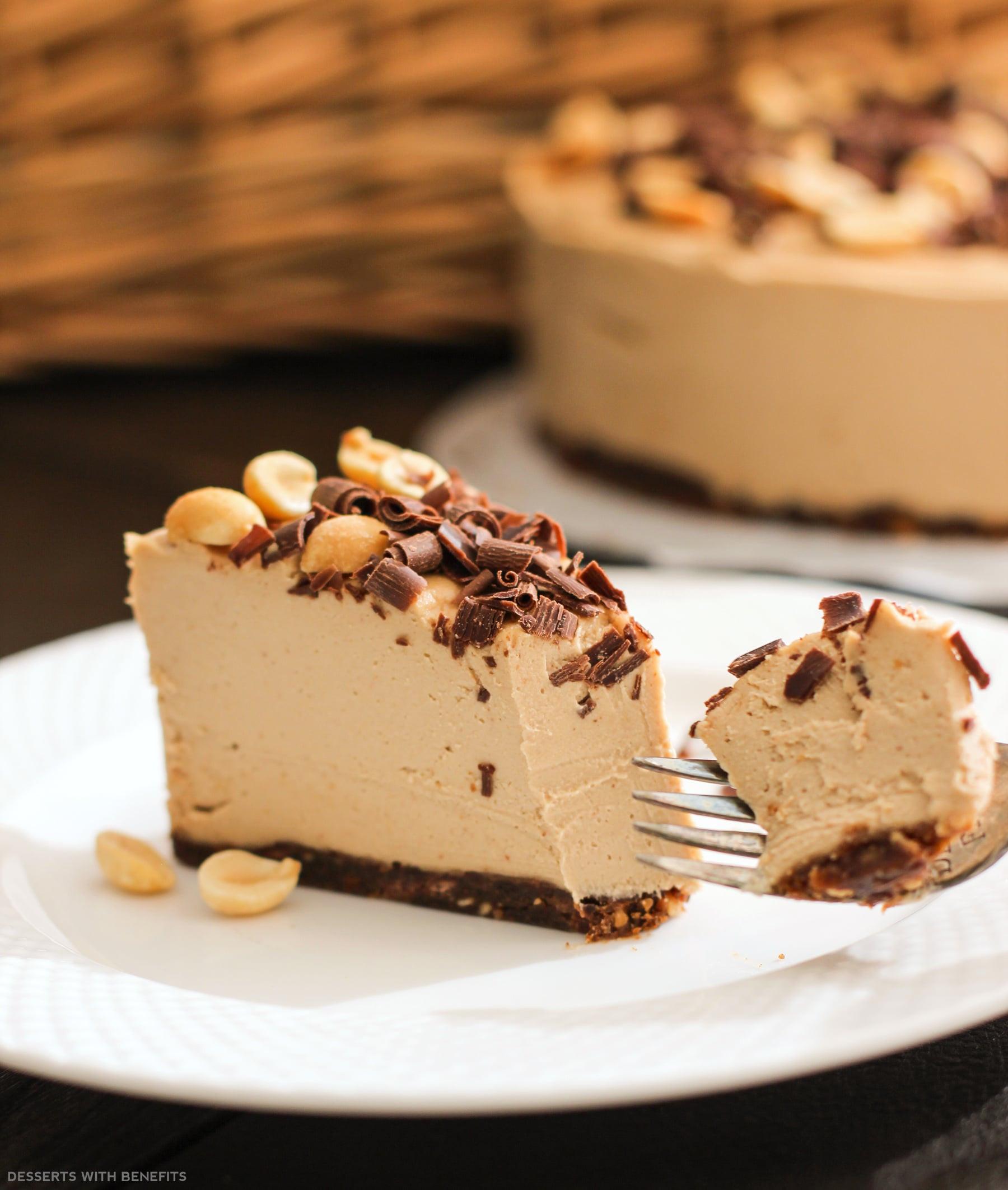 Sugar Free Dairy Free Desserts  Desserts With Benefits Healthy Chocolate Peanut Butter Raw