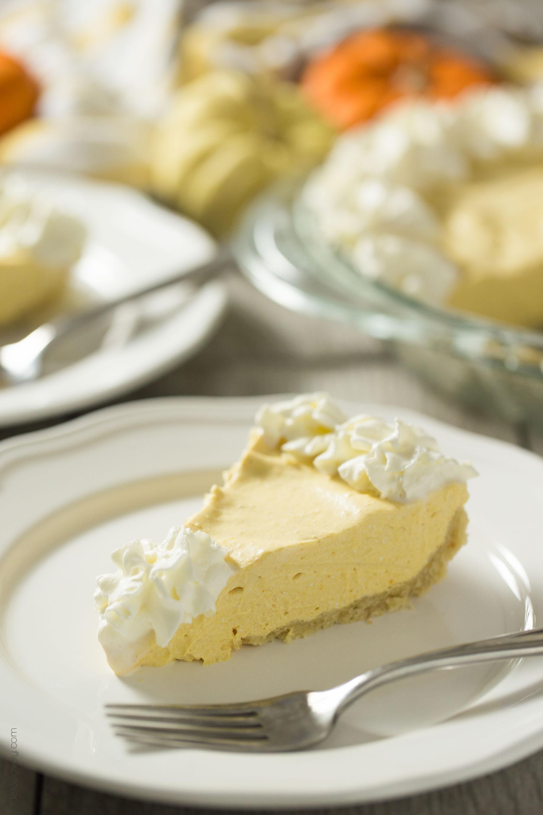 Sugar Free Dairy Free Desserts  Paleo Pumpkin Cream Pie — Tastes Lovely