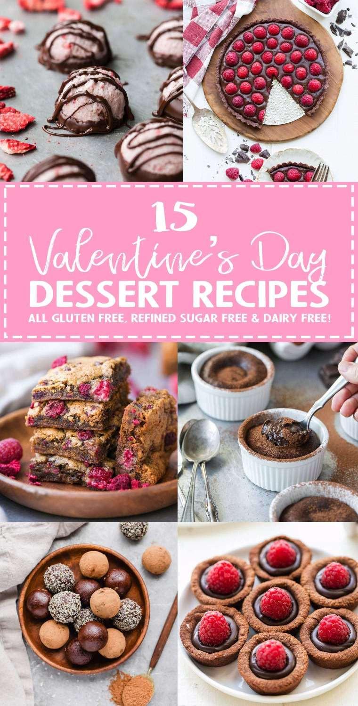 Sugar Free Dairy Free Desserts  Valentine s Day Dessert Recipe Roundup All Gluten Free