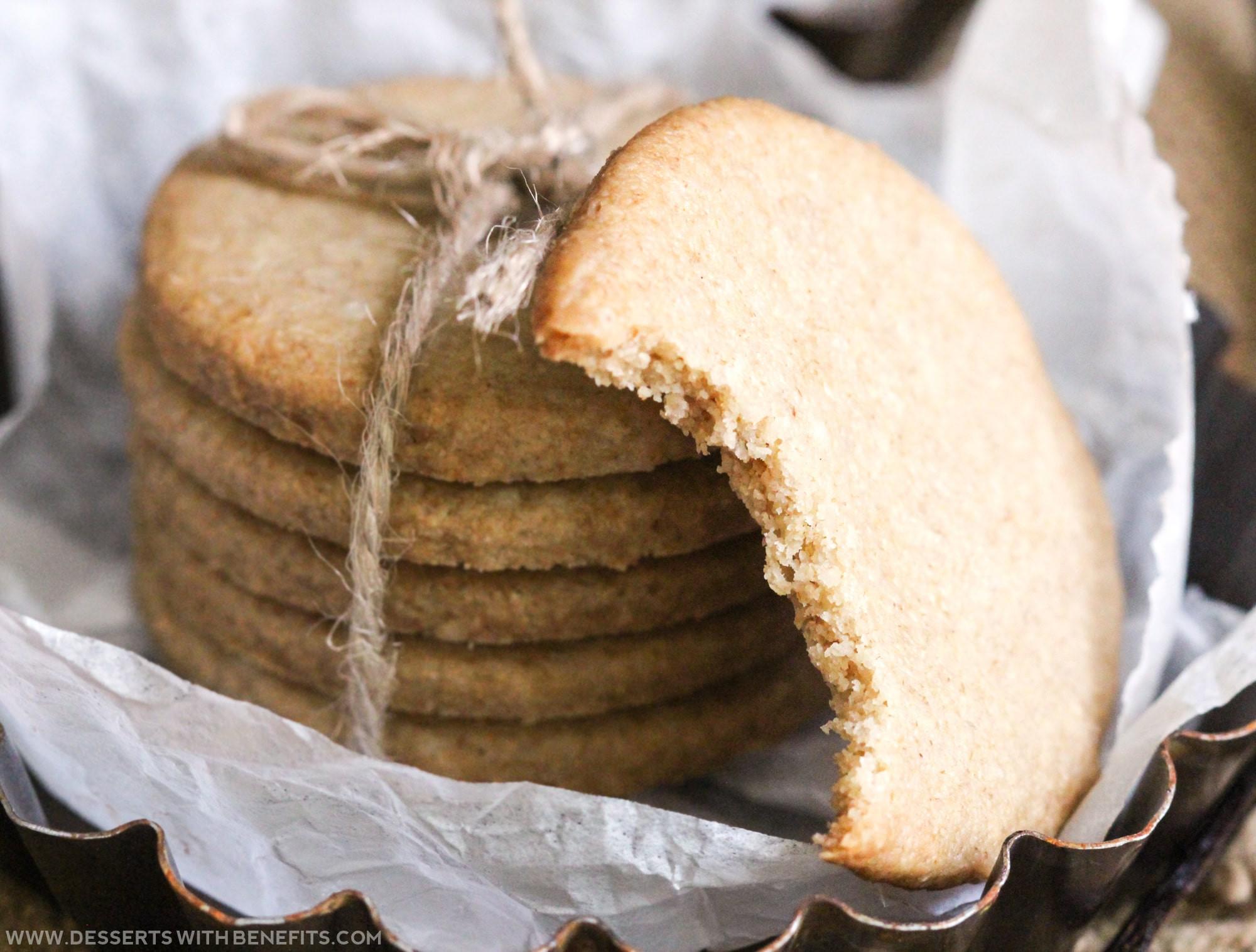 Sugar Free Dairy Free Desserts  Desserts With Benefits Healthy Shortbread Cookies recipe