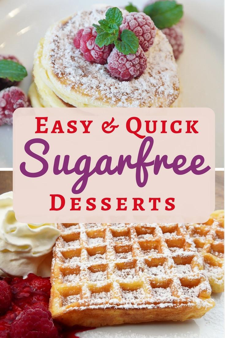 Sugar Free Dessert  Sugar Free Dessert Recipes Easy Simple and Delicious