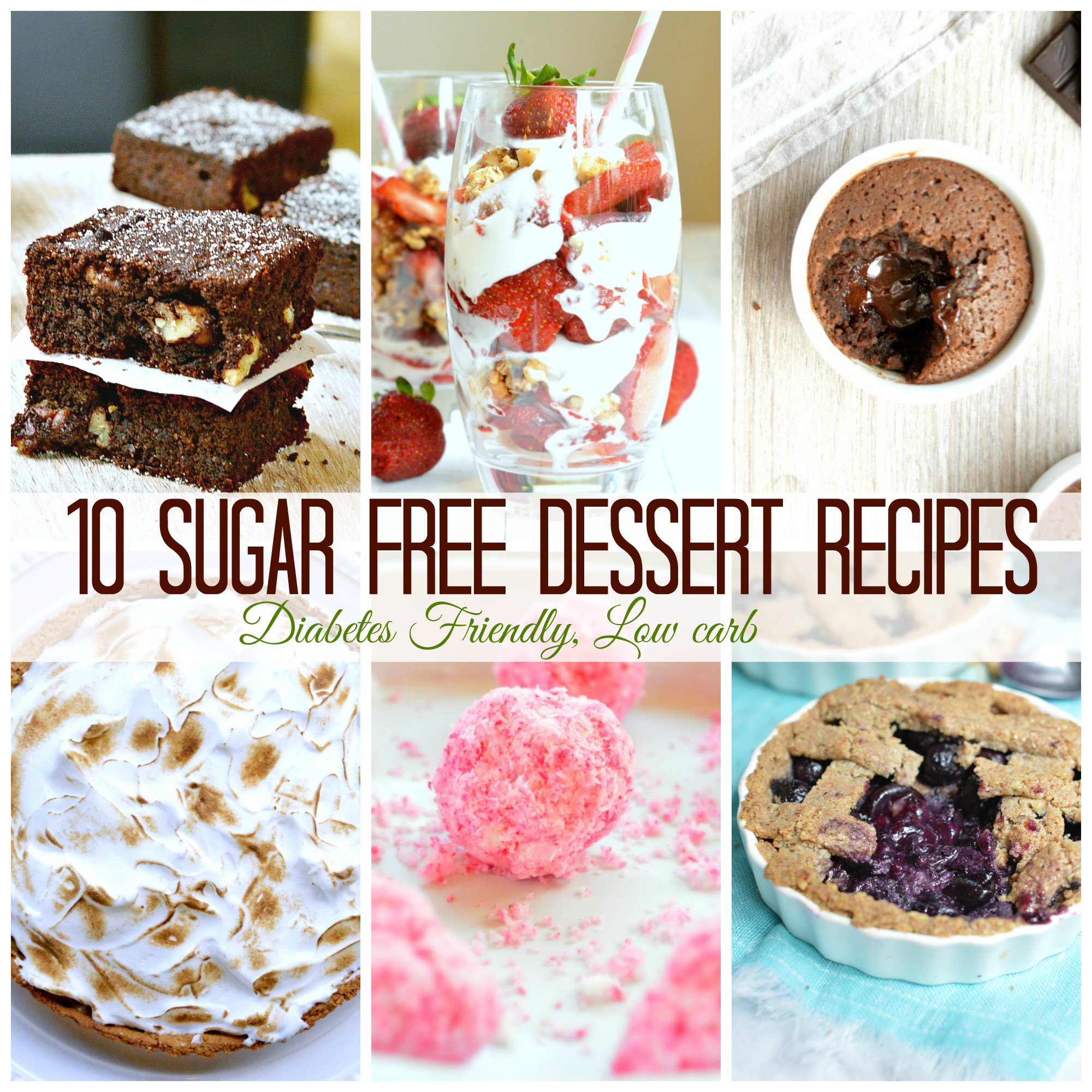 Sugar Free Dessert  10 Sugar Free Dessert for diabetics SWEETASHONEY