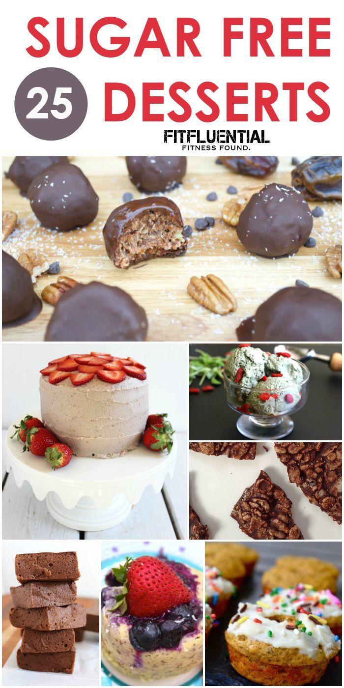 Sugar Free Desserts  25 Sugar Free Desserts FitFluential
