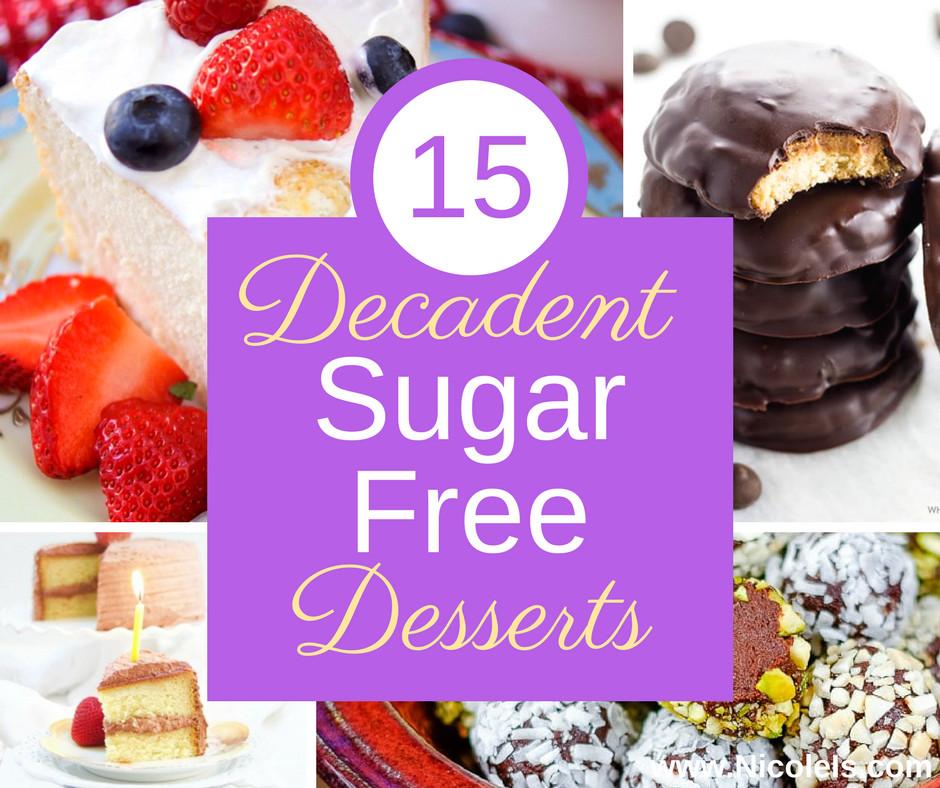 Sugar Free Desserts  15 Decadent Sugar Free Desserts