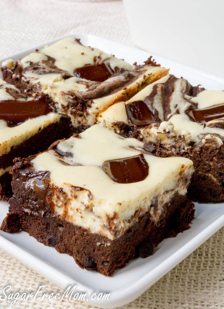 Sugar Free Desserts  Sugar Free Cheesecake Brownies Gluten Free and Low Carb