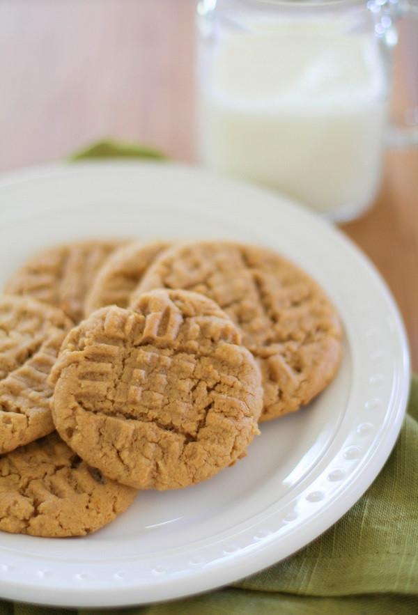 Sugar Free Peanut Butter Cookies  grain free sugar free peanut butter cookies