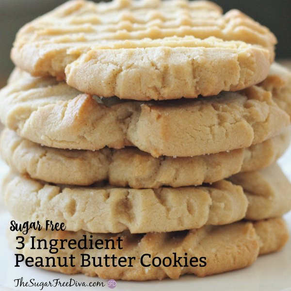 Sugar Free Peanut Butter Cookies  sugar free peanut butter cookies no splenda