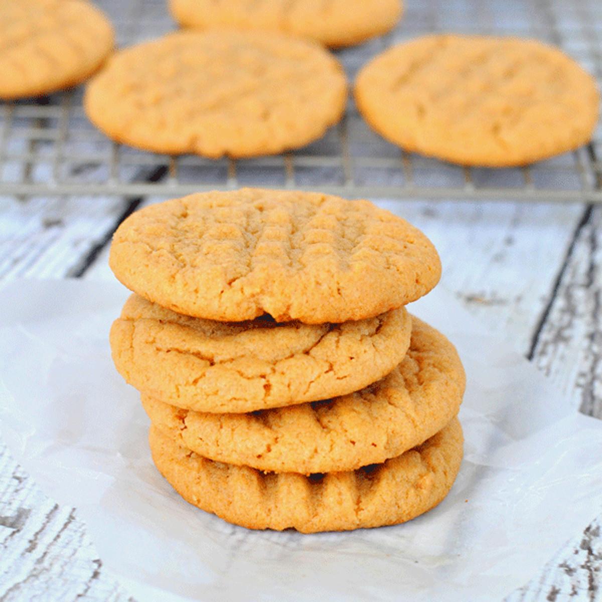Sugar Free Peanut Butter Cookies  Sugar Free Peanut Butter Cookies