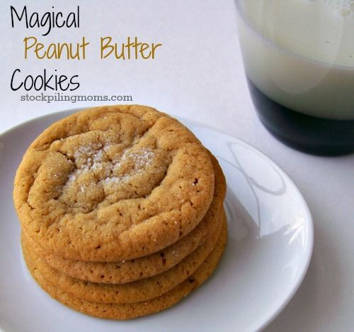 Sugar Free Peanut Butter Cookies  Magical Peanut Butter Cookies Recipe