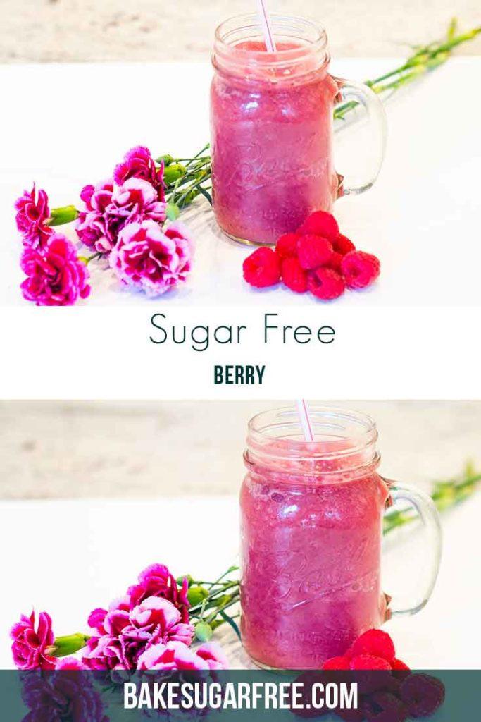 Sugar Free Smoothies  Sugar Free Berry Smoothie Bake Sugar Free