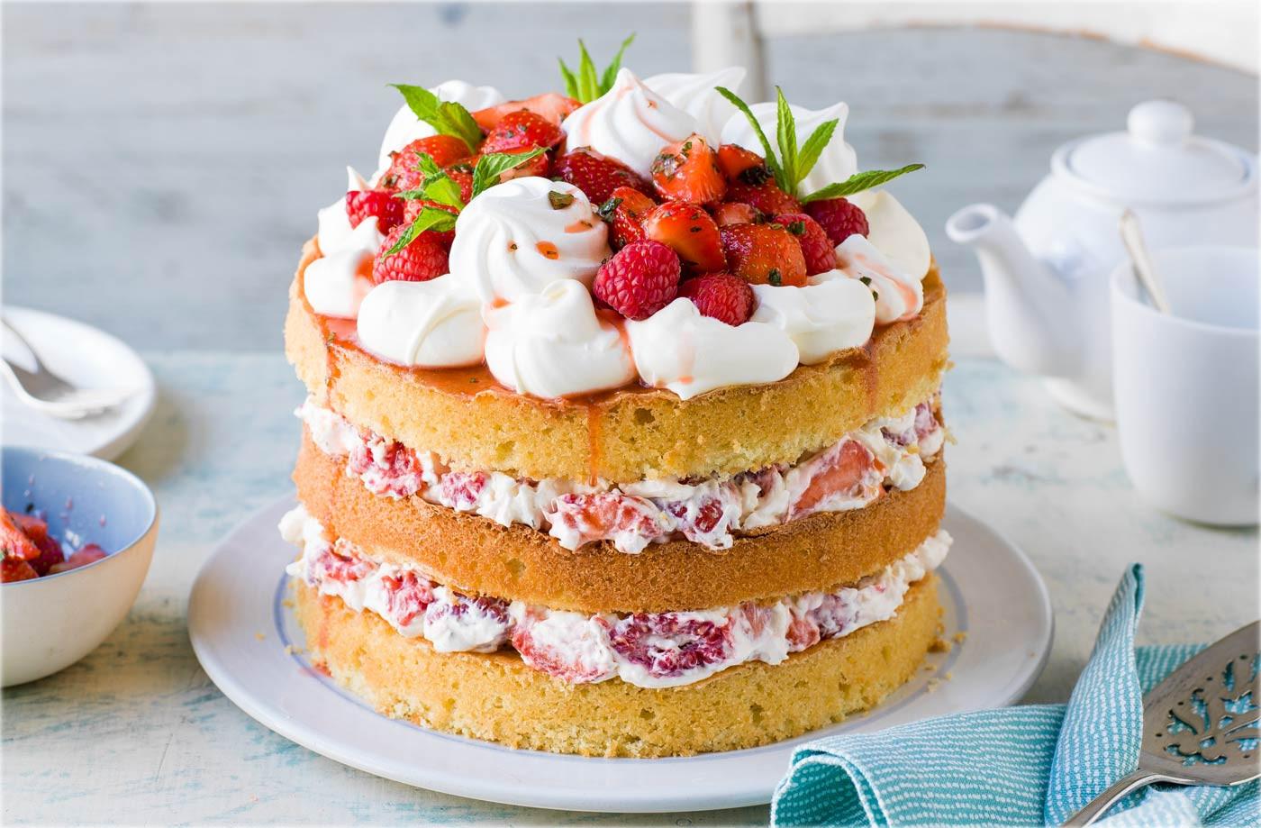 Summer Cake Recipes  Eton Mess Cake Recipe Summer Dessert Recipes
