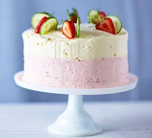 Summer Cake Recipes  Pimm s cake recipe