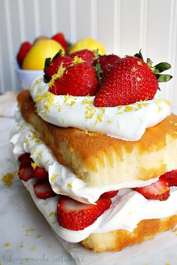 Summer Cake Recipes  No Bake Strawberry Summer Cake Home Made Interest