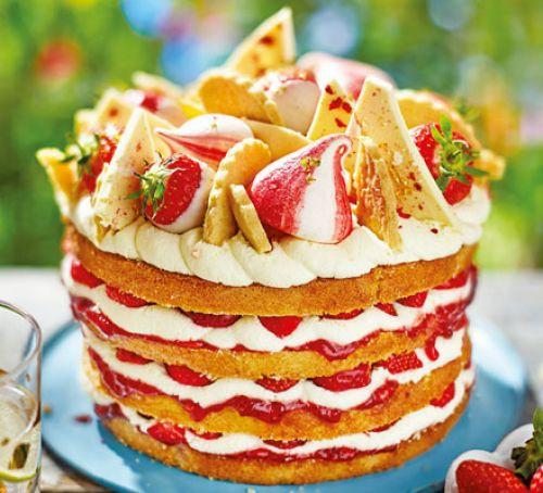 Summer Cake Recipes  Summer party cake recipe