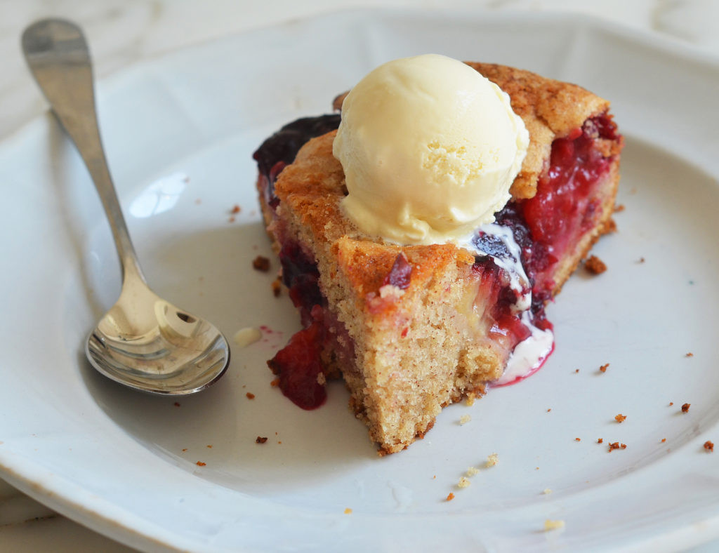 Summer Cake Recipes  Late Summer Plum Cake ce Upon a Chef