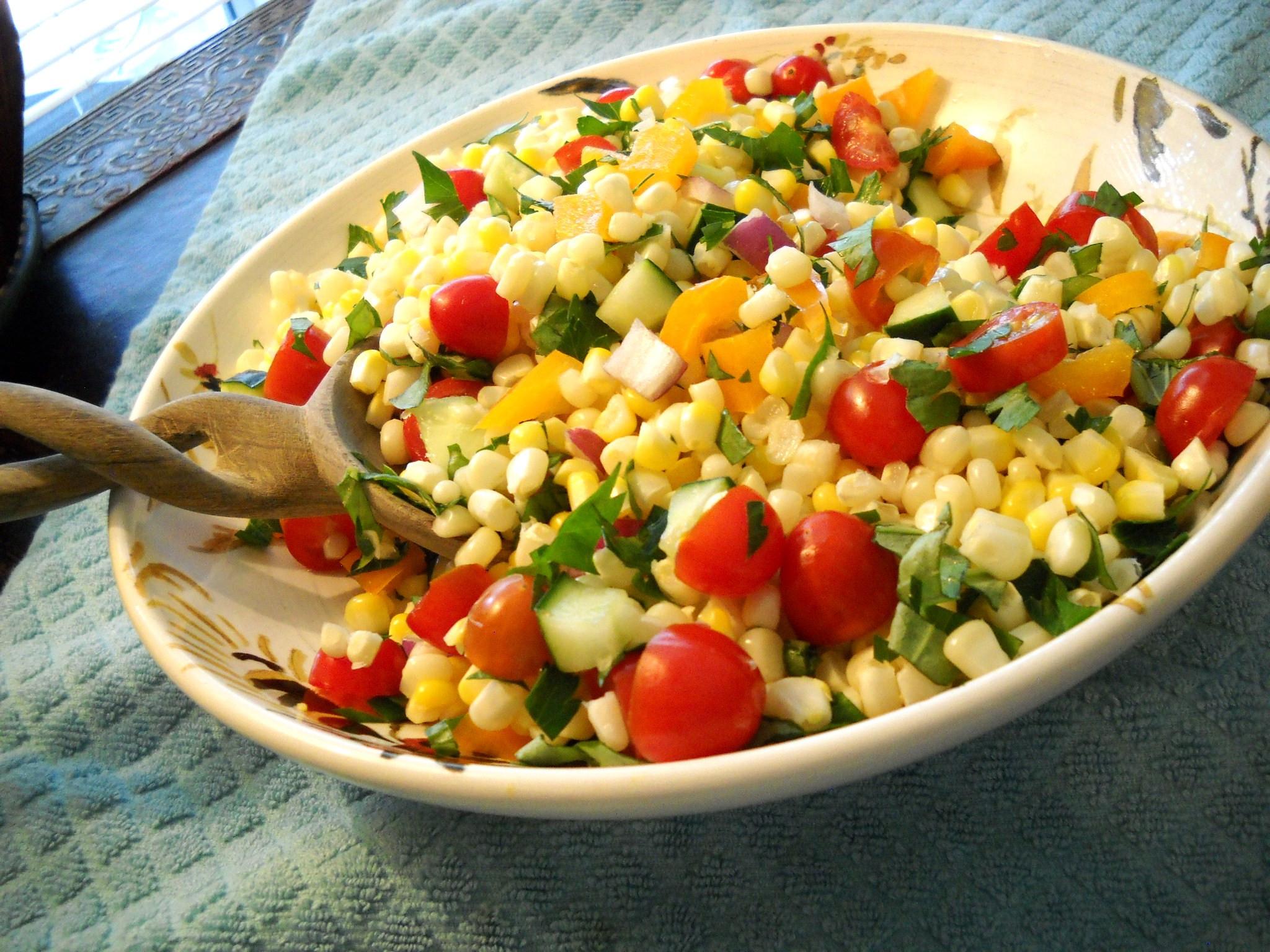 Summer Corn Salad  Fresh Corn Salad