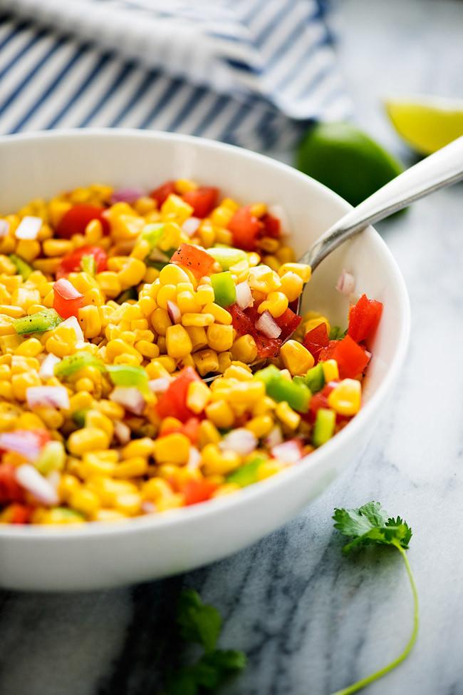 Summer Corn Salad  Summer Corn Salad Life In The Lofthouse