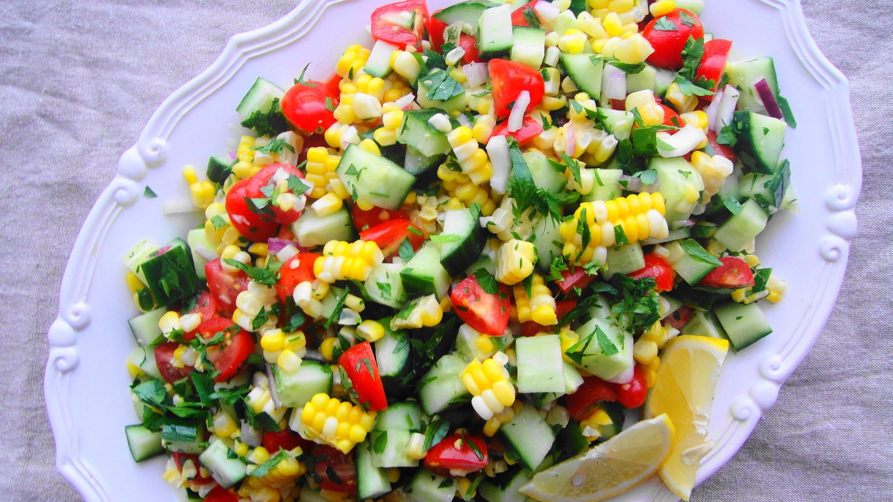 Summer Corn Salad  Summer Corn Salad