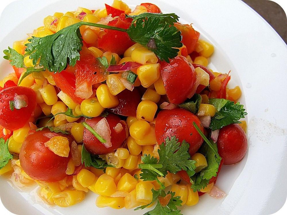 Summer Corn Salad  Summer Cooking — The Most Delicious Corn Salad Recipe