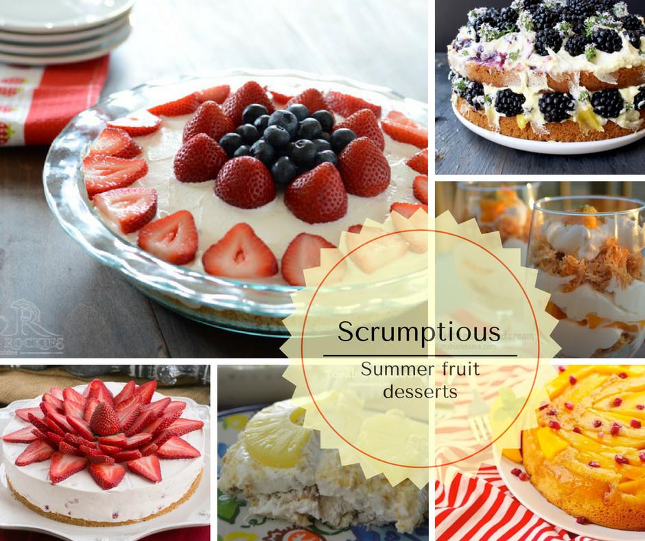 Summer Fruit Desserts  Summer fruit desserts recipes