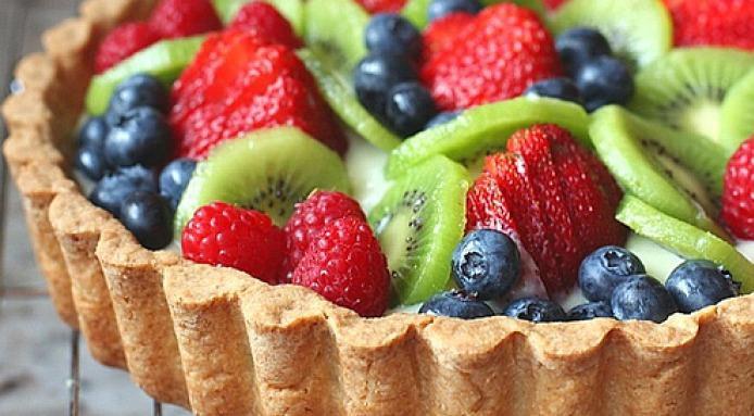 Summer Fruit Desserts  Summer Fruit Tart Recipe