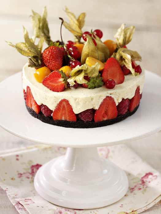 Summer Fruits Dessert  Summer desserts cakes tarts pavlovas and trifle