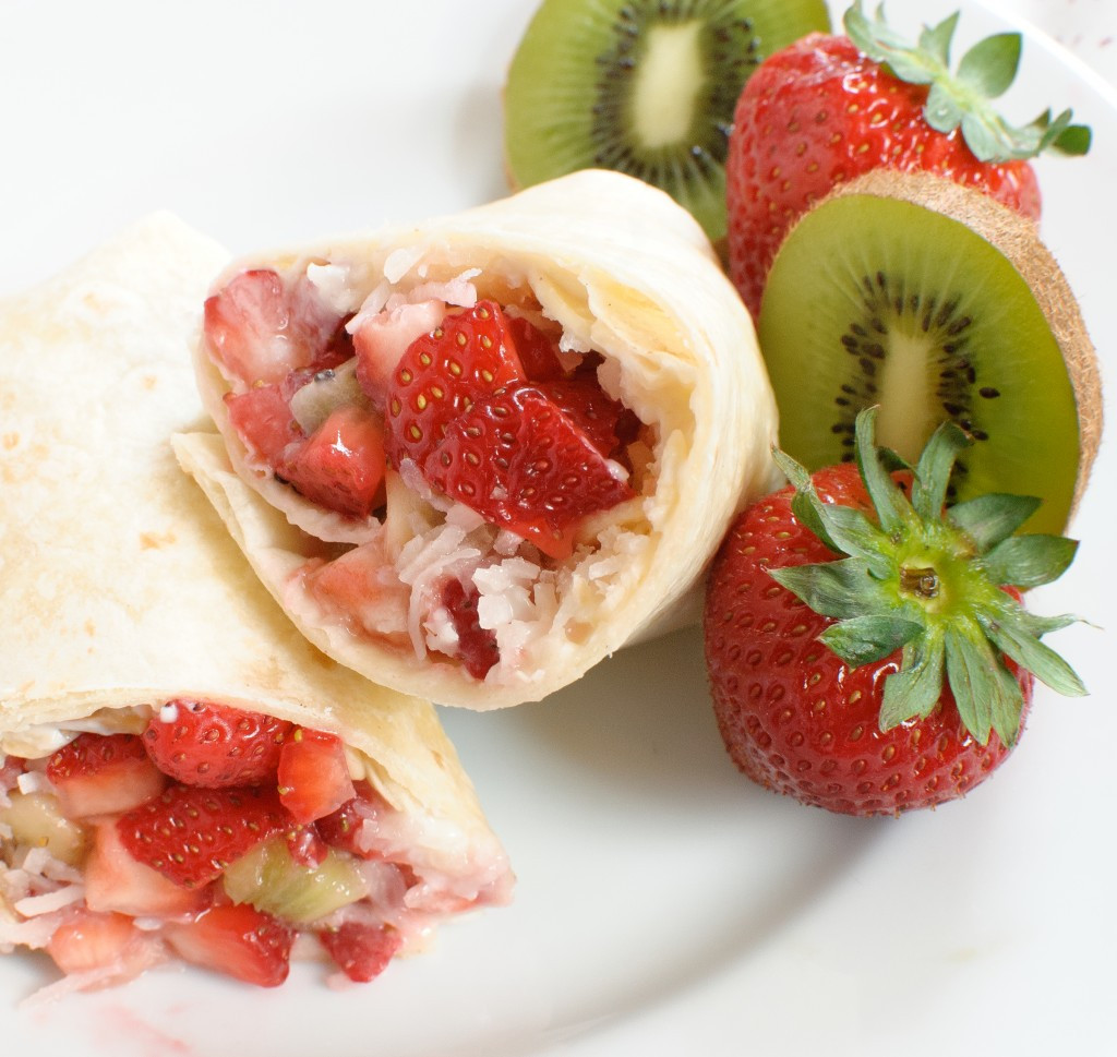Summer Fruits Dessert  Summer Fruit Dessert Burritos Baked In