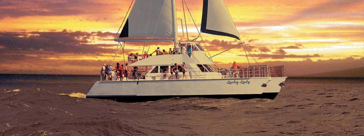 Sunset Dinner Cruise  Na Pali Snorkel & Sunset Dinner Cruise in Kauai