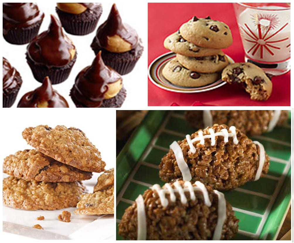 Super Bowl Desserts Easy  Sweeter Than Sweet Dessert Tables Simple Super Bowl Fixes