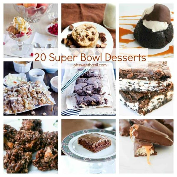 Super Bowl Desserts Ideas  40 Must Make Super Bowl Recipes