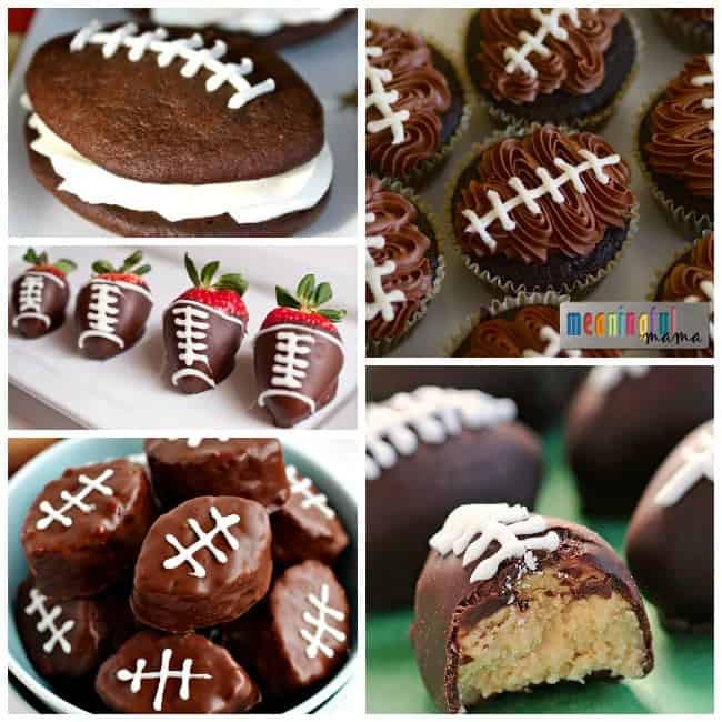 Super Bowl Desserts Ideas  Seahawks and Super Bowl Food Ideas