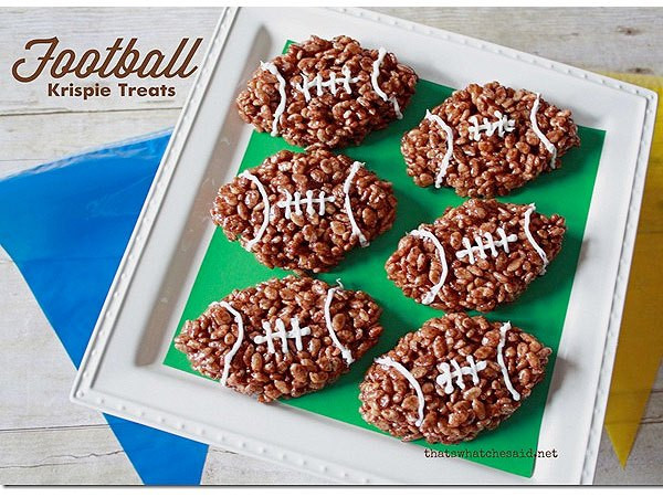 Super Bowl Desserts Ideas  Football Shaped Snack Recipes for Your Super Bowl Party