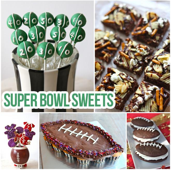 Super Bowl Desserts Ideas  Starting Line Up of Super Bowl Sweets
