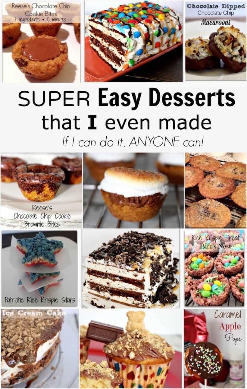 Super Easy Desserts  Super Easy Dessert Recipes That I Even Made Princess