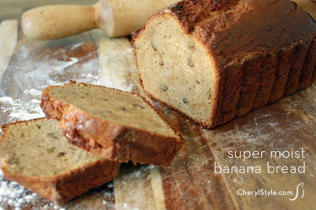 Super Moist Banana Bread Recipe  Super moist banana bread recipe Everyday Dishes & DIY