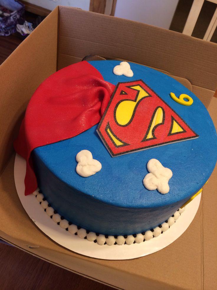 Superman Birthday Cake  Superman Birthday Cake My Cakes Pinterest